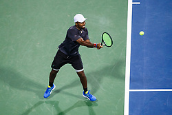 July 31, 2018 - Washington, District of Columbia, U.S. - WASHINGTON, DC - JULY 31: DONALD YOUNG (USA) during day two match of the 2018 Citi Open on July 31, 2018, at Rock Creek Park Tennis Center in Washington D.C. (Photo by Chaz Niell/Icon Sportswire) (Credit Image: © Chaz Niell/Icon SMI via ZUMA Press)
