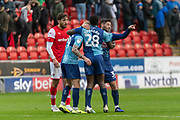Joe Jacobson of Wycombe Wanderers after the EFL Sky Bet League 1 match between Rotherham United and Wycombe Wanderers at the AESSEAL New York Stadium, Rotherham, England on 26 October 2019.