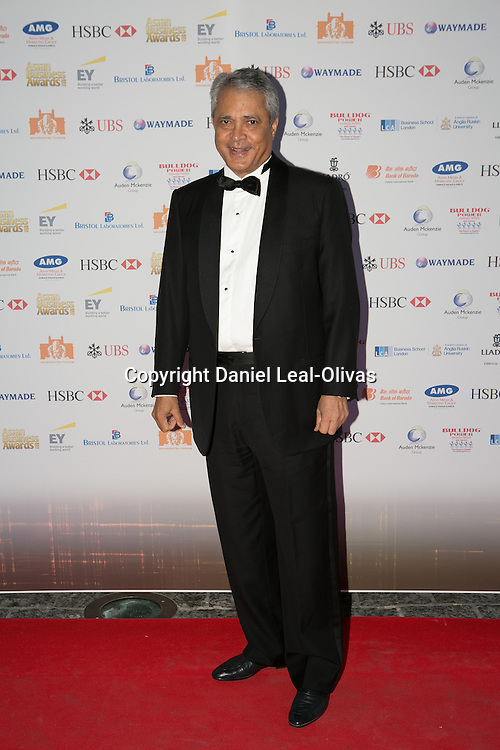 Asian Rich List Gala. Moni Verma attends the annual ceremony which recognises the country\'s richest Asians. Figures compiled by the Eastern Eye newspaper. Park Plaza Hotel, London, United Kingdom. Friday, 11th April 2014. Picture by Daniel Leal-Olivas / i-Images