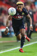Doncaster Rovers forward Mallik Wilks (7) during the EFL Sky Bet League 1 second leg Play-Off match between Charlton Athletic and Doncaster Rovers at The Valley, London, England on 17 May 2019.