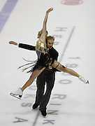 06 Aug 2009: Tarrah Harvey and Keith Gagnon of the White Rock South Surrey Figure Skating Club skate in the Senior Free Dance at  the 2009 Lake Placid Ice Dance Championships in Lake Placid, N.Y.    © Todd Bissonette