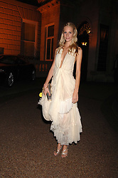 POPPY DELEVIGNE at the Quintessentially Summer Party at the Wallace Collection, Manchester Square, London on 6th June 2007.<br />