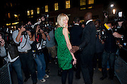 CLAUDIA SCHIFFER;, Dinner hosted by editor of British Vogue, Alexandra Shulman in association with Net-A-Porter.com in honour of 25 years of London Fashion Week and Nick Knight. Caprice. London.  September 21, 2009