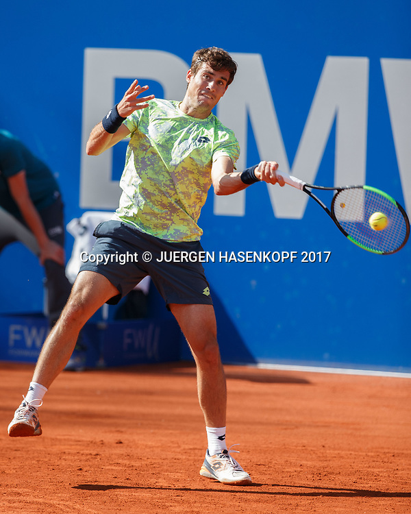 GUIDO PELLA (ARG)<br /> <br /> Tennis - BMW Open2017 -  ATP  -  MTTC Iphitos - Munich -  - Germany  - 2 May 2017.