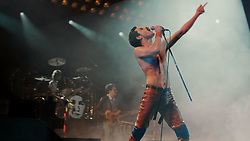RELEASE DATE: November 2, 2018 TITLE: Bohemian Rhapsody STUDIO: Twentieth Century Fox DIRECTOR: Dexter Fletcher, Bryan Singer PLOT: A chronicle of the years leading up to Queen's legendary appearance at the Live Aid (1985) concert in 1985. STARRING: RAMI MALEK as Freddie Mercury. (Credit Image: © Twentieth Century Fox/Entertainment Pictures/ZUMAPRESS.com)