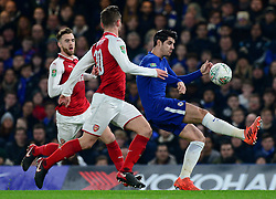 Alvaro Morata of Chelsea - Mandatory by-line: Alex James/JMP - 10/01/2018 - FOOTBALL - Stamford Bridge - London, England - Chelsea v Arsenal - Carabao Cup semi-final first leg