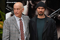 22.02.2013, Hotel Visconti Palace, Rom, ITA, Siberian Education Photocall, im Bild John Malkovich, Nicolai Lilin // during the Siberian Education Photocall at the visconti Palace Hotel in Rom, Italy on 2013/02/22. EXPA Pictures © 2013, PhotoCredit: EXPA/ Insidefoto/ Andrea Staccioli..***** ATTENTION - for AUT, SLO, CRO, SRB, BIH and SWE only *****