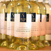 Bottles of wine on sale at Soljan's Estate Winery, Auckland, New Zealand, 12th November 2010. Photo Tim Clayton.