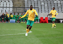 Golden Arrows defender Limbikani Mzava  in the match between Ajax Cape Town and Golden Arrows at the Cape Town Stadium on Saturday, August 19, 2017.