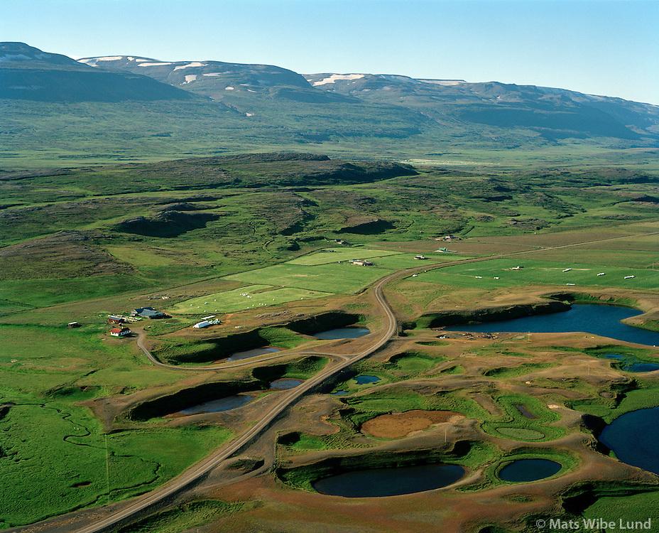 Slepbrjíotur séð til norðurs, Fljótsdalshérað áður Hlíðarhreppur / Sledbrjotur viewing north, Fljotsdalsherad former Hlidarhreppur