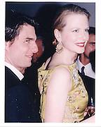Nicole Kidman and Tom Cruise 1997 Vanity Fair Party Oscars © Copyright Photograph by Dafydd Jones 66 Stockwell Park Rd. London SW9 0DA Tel 020 7733 0108 www.dafjones.com