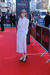 Edinburgh International Film Festival 2019<br /> <br /> Boyz In The Wood (European Premiere)<br /> <br /> Stars and guests arrive on the red carpet for the opening gala<br /> <br /> Pictured: Antonia Campbell-Hughes<br /> <br /> Alex Todd | Edinburgh Elite media