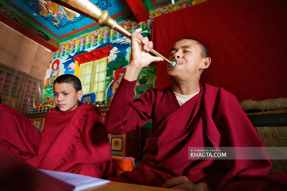 Monks in Rewalsar