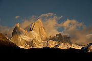 Fitz Roy in morning light.