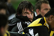 Huricanes captain Andrew Hore. Super 15 rugby match - Hurricanes v Lions at Westpac Stadium, Wellington, New Zealand on Saturday, 4 June 2011. Photo: Dave Lintott / photosport.co.nz