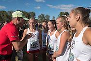Park City (Utah) before the start of the Bob Firman Invitational girls elite race, September 24, 2016 at Eagle Island State Park, Eagle, Idaho.