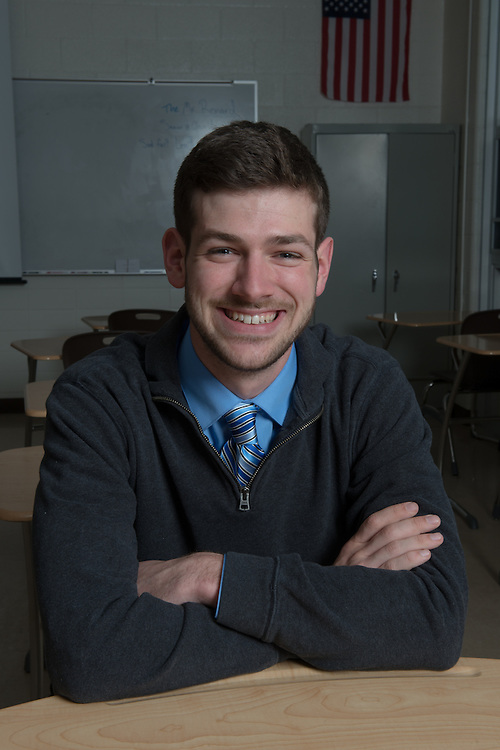 Jonathan Renard Nelsonville- York High School People Students Portraits Voices of OHIO Patton College of Education