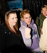 03.APRIL.2007. LONDON<br /> <br /> BILLIE PIPER AND LAURENCE FOX LEAVING THE GARRICK THEATRE AFTER PERFORMING IN TREATS.<br /> <br /> BYLINE: EDBIMAGEARCHIVE.CO.UK<br /> <br /> *THIS IMAGE IS STRICTLY FOR UK NEWSPAPERS AND MAGAZINES ONLY*<br /> *FOR WORLD WIDE SALES AND WEB USE PLEASE CONTACT EDBIMAGEARCHIVE - 0208 954 5968*