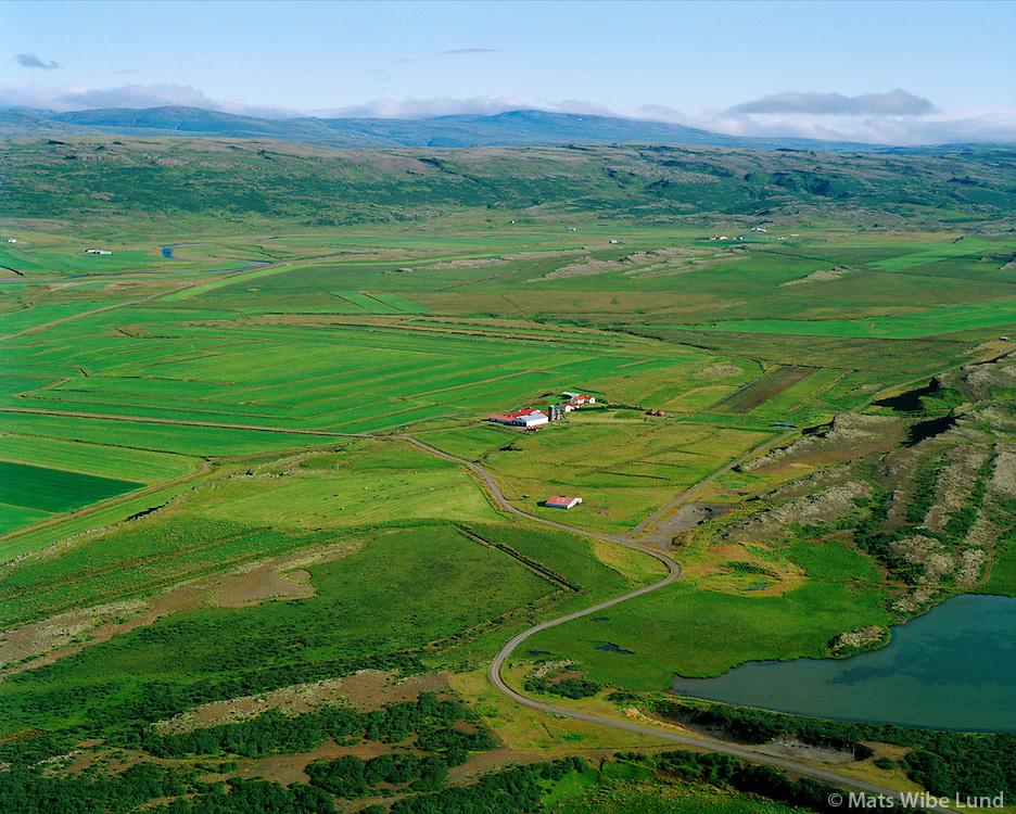 Helgavatn séð til norðurs, Borgarbyggð áður Þverárhlíðarhreppur / Helgavatn viewing north. Borgarbyggd former Thverarhlidarhreppur