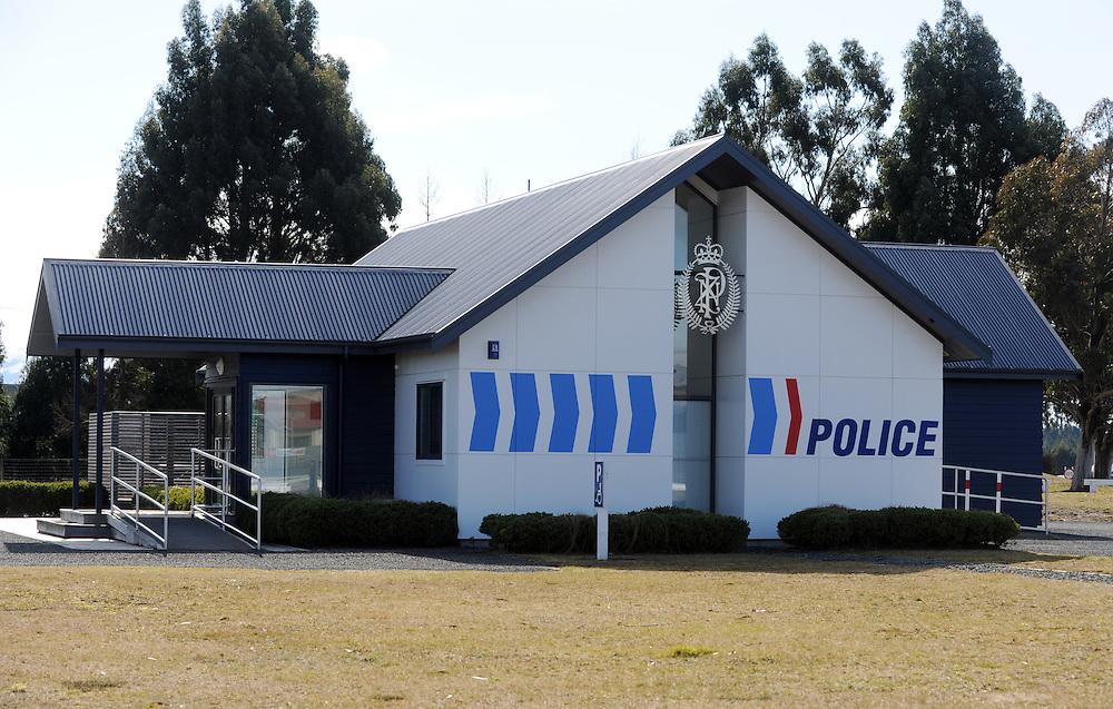 Police Station, Waiouru, New Zealand, Wednesday, August 03, 2011. Credit:SNPA / Ross Setford