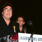 Premiere Het 14de Kippetje Utrecht, KO Laurens Geels en Dick Maas op de achtergrond