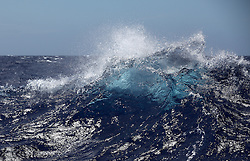 INDIAN OCEAN 2APR13 - Wave formations during rough weather in the Indian Ocean.<br /> <br /> jre/Photo by Jiri Rezac / Greenpeace