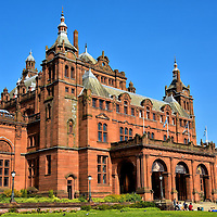 Kelvingrove Art Gallery in Glasgow, Scotland<br />