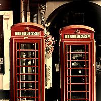 UK phonebox olde look