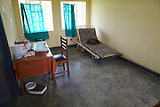 Inside the maternity ward at Kashare Level 3 Health Centre. <br /> <br /> Level 3 health centres are usually smaller facilities, often in more isolated or rural locations. Although staffed by qualified health workers, they are often lacking in basic infrastructure and they do not have the staff or equipment to manage emergency procedures.