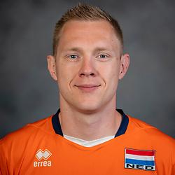 21-05-2019 NED: Team shoot Dutch volleyball team men, Arnhem<br /> Daan van Haarlem #1 of Netherlands
