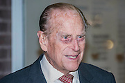 The Duke of Edinburgh opens the new Design Museum in Kensington. The Design Museum has moved to Kensington High Street from its former home as an established London landmark on the banks of the river Thames.  The new museum will be devoted to contemporary design and architecture, an international showcase for the many design skills at which Britain excels and a creative centre, promoting innovation and nurturing the next generation of design talent. His Royal Highness toured the museum to view the transformation of a modernist building from the 1960s, which was the former Commonwealth Institute.  14 November 2016, London.