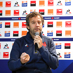 Fabien GALTHIE   during the presentation of the new staff of the French Rugby team on November 13, 2019 in Cahors, France. (Photo by Manuel Blondeau/Icon Sport) - Fabien GALTHIE - Montgesty (France)
