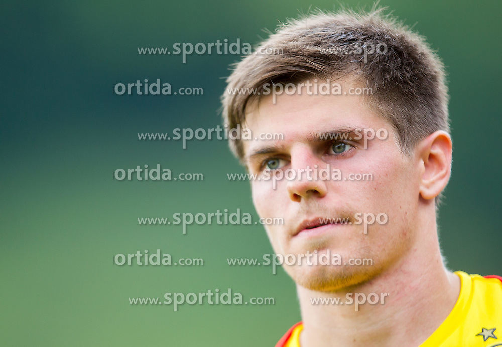 10.07.2014, Sportplatz, Brixen im Thale, AUT, Borussia Dortmund Trainingslager, im Bild Jonas Hofmann // Jonas Hofmann during a Trainingssession of the German Bundesliga Club Borussia Dortmund at the Sportplatz, Brixen im Thale, Austria on 2014/07/10. EXPA Pictures © 2014, PhotoCredit: EXPA/ JFK