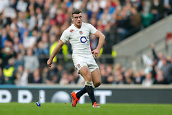 England Fly-Half George Ford looks on after kicking Australia conversion - Photo mandatory by-line: Rogan Thomson/JMP - 07966 386802 - 29/11/2014 - SPORT - RUGBY UNION - London, England - Twickenham Stadium - England v Australia - QBE Autumn Internationals.