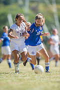 Sussex County Community College women's soccer at County College of Morris in Randolph, NJ on Sunday December 31, 2000. (photo / Mat Boyle)
