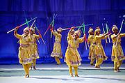 NJ, Edison, Dancers at Cultural Festival of India.