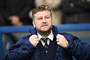 Oxford United manager Karl Robinson during the EFL Sky Bet League 1 match between Oxford United and Shrewsbury Town at the Kassam Stadium, Oxford, England on 7 December 2019.