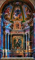 """Altar of Sant'Andrea imagines the crucifixion of Christ - Cathedral of Amalfi""...<br />