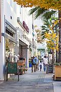 Shopping on Colorado Boulevard in Pasadena