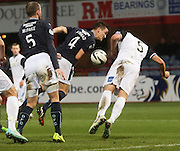 Dundee's Thomas Konrad and Inverness' Garry Warren  - Dundee v Inverness Caledonian Thistle, SPFL Premiership at Dens Park <br /> <br />  - &copy; David Young - www.davidyoungphoto.co.uk - email: davidyoungphoto@gmail.com