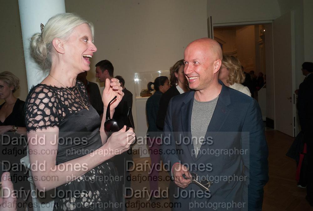 KRISTEN MCMENAMY; SAM KELLER , Calder After The War. Pace London. Burlington Gdns. London. 18 April 2013.