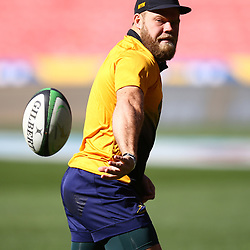 Akker van der Merwe of South Africa during the South African - Springbok Captain's Run at Emirates Airline Park,<br /> Johannesburg .South Africa. 08,06,2018 Photo by (Steve Haag Sports)