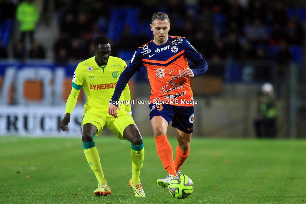 KEvin BERIGAUD  - 24.01.2015 - Montpellier / Nantes  - 22eme journee de Ligue1<br />Photo : Nicolas Guyonnet / Icon Sport