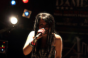 Angelical Tears performs at Reggie's Music Joint in Chicago, Illinois for Dame Nation on 2011-07-29.