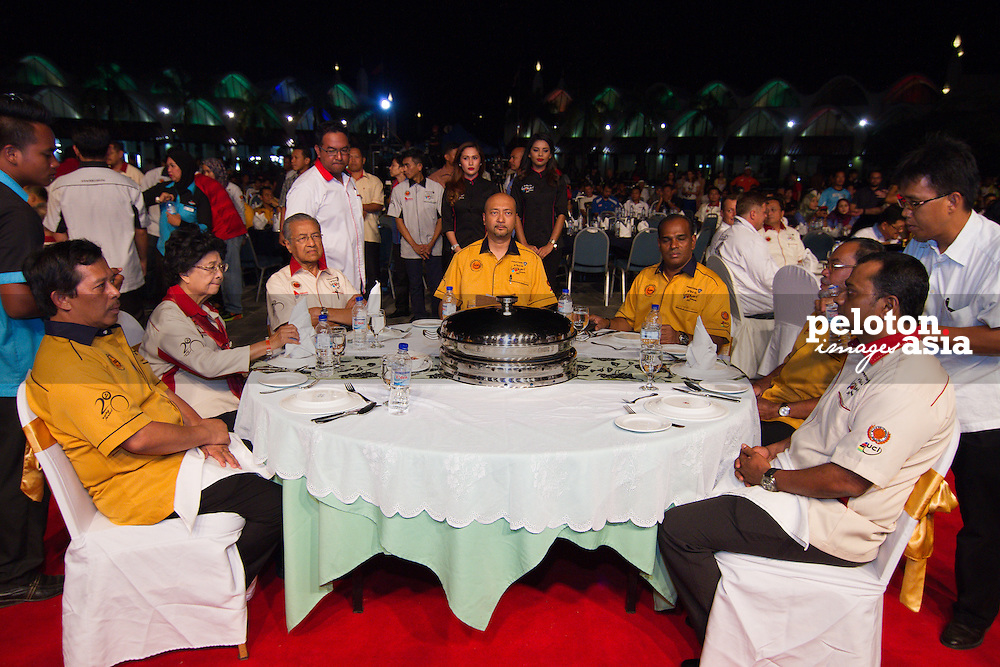 Le Tour de Langkawi 2015/ Team Presentation/ Tun Mahathir/Founder