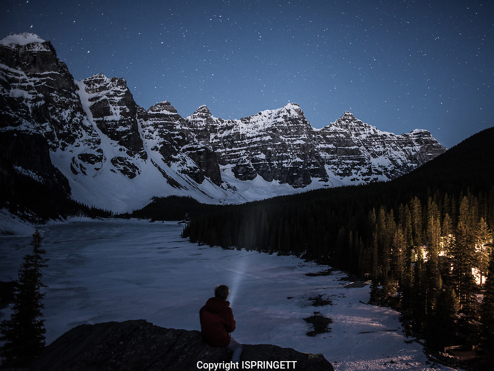 Moraine Lake night shoot., Alberta, Canada, Isobel Springett