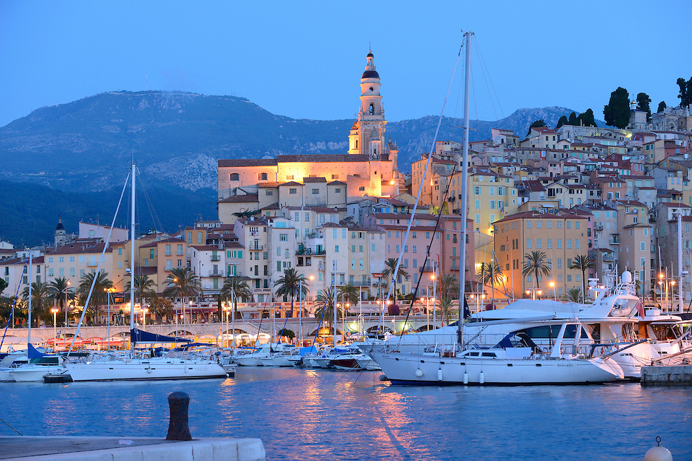 Menton, Cote D'azur, France, Europe