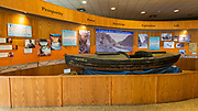 Interpretive display, Carl Hayden Visitor Center at Glen Canyon Dam, Glen Canyon National Recreation Area, Page, Arizona USA