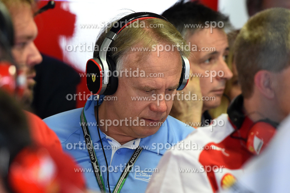 06.09.2014, Autodromo di Monza, Monza, ITA, FIA, Formel 1, Grand Prix von Italien, Qualifying, im Bild Gene Haas (USA) Founder, President, and Sole Stockholder of Haas Automation, and founder of the Haas Formula One Team. // during the Qualifying of Italian Formula One Grand Prix at the Autodromo di Monza in Monza, Italy on 2014/09/06. EXPA Pictures &copy; 2014, PhotoCredit: EXPA/ Sutton Images<br /> <br /> *****ATTENTION - for AUT, SLO, CRO, SRB, BIH, MAZ only*****