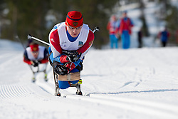 DAVIDOVICH Aleksandr, RUS, Long Distance Cross Country, 2015 IPC Nordic and Biathlon World Cup Finals, Surnadal, Norway